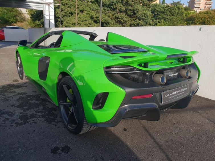 McLaren 675LT SPIDER V8 3.8 675 ch