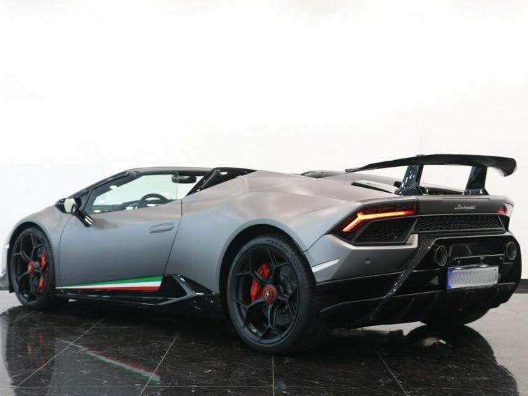 Lamborghini Huracán Spyder LP 640-4 Performante
