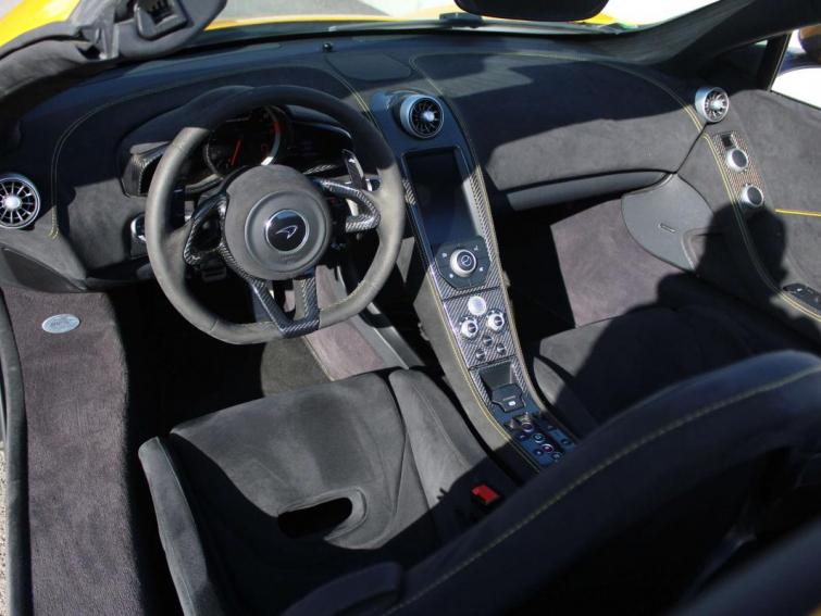 McLaren 650S SPIDER 3.8 V8 650CH