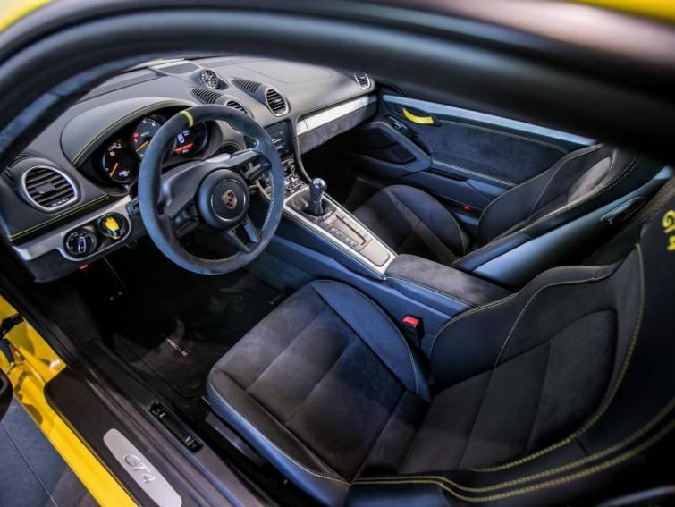 PORSCHE 718 Cayman 4.0 420ch GT4 Euro6d-T