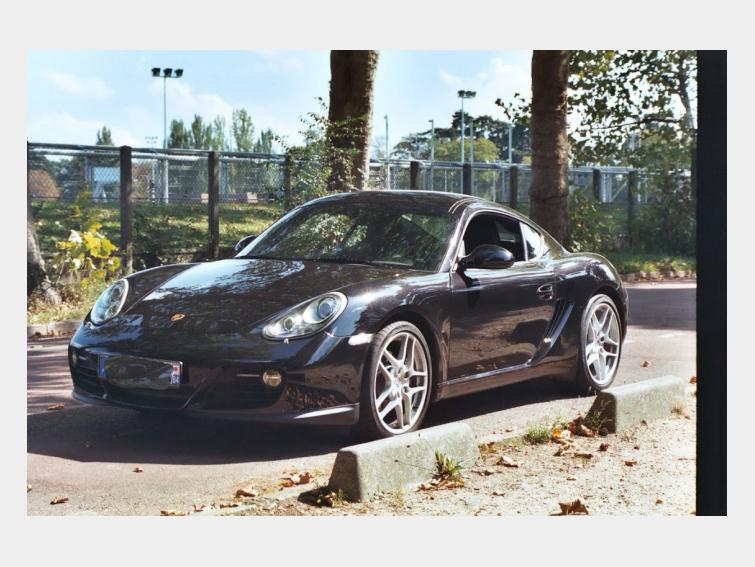 Belle Porsche Cayman