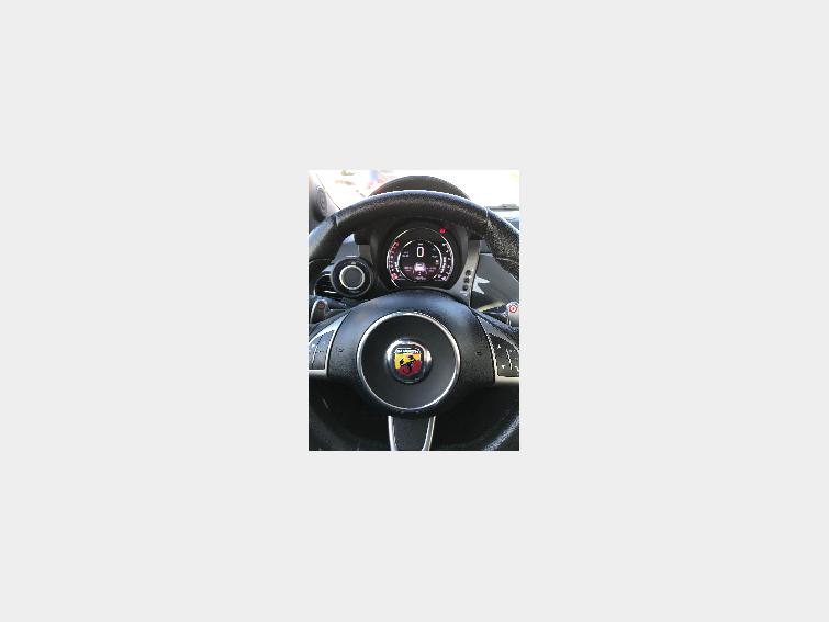 Fiat abarth 500 cabriolet 2015