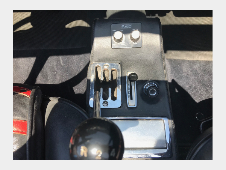 FERRARI DINO 246 GTS cabriolet