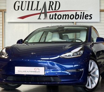 Tesla Model 3 LONG RANGE DUAL MOTOR AWD 462ch BVA