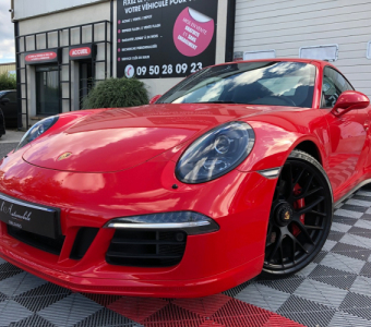 Porsche 911  991 GTS 3.8 430 ROUGE INDIEN
