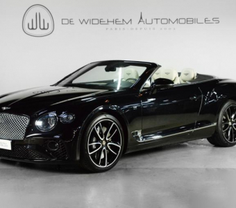BENTLEY CONTINENTAL GTC 3 6.0 W12 635 FIRST EDITION