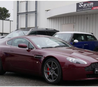 Aston Martin V8 Vantage COUPE 4.3 390CH BVM6